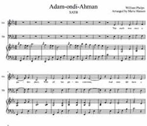 Adam-ondi-Ahman - SATB Choir