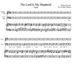 The Lord is my Shepherd (SATB Choir)