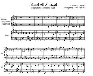I Stand All Amazed Teacher and Me Duet
