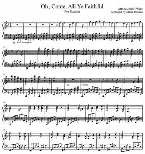 Oh, Come, All Ye Faithful (Piano Solo)