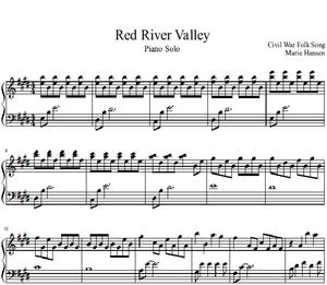 Red River Valley (Piano Solo)