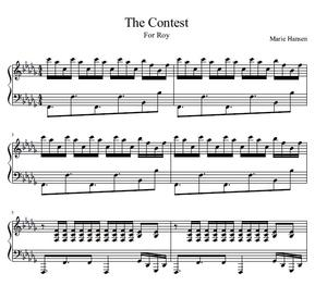 The Contest (Piano Solo)
