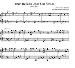 Truth Reflects Upon Our Senses (Piano Solo)