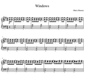 Windows (Piano Solo)