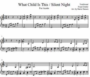 What Child is This / Silent Night (Piano Solo)