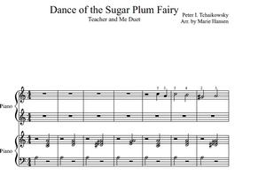 Dance of the Sugar Plum Fairy (Teacher and Me Duet)