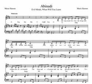 Abinadi (Original vocal solo with piano or guitar accompaniment)