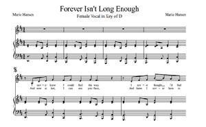 Forever Isn't Long Enough (Vocal Solo in D)