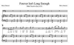 Forever Isn't Long Enough (Vocal Solo in G)