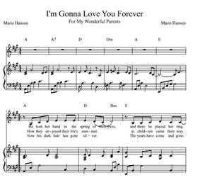 I'm Gonna Love You Forever (Vocal Solo)