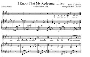 I Know That My Redeemer Lives (Vocal Solo or Duet)
