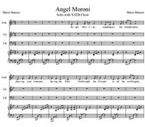 Angel Moroni (Vocal Solo with SATB Choir)