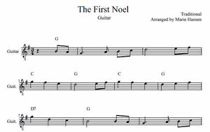 The First Noel (Guitar Solo)