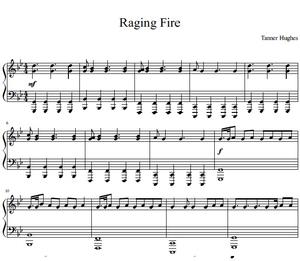 Raging Fire (Piano Solo)