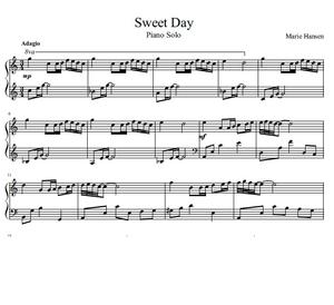 Sweet Day (Piano Solo)