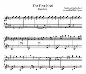The First Noel (Piano Solo)