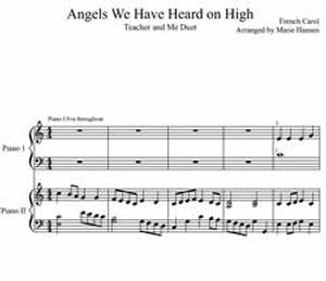 Angels We Have Heard On High (Teacher and Me Duet)
