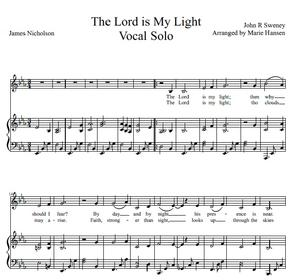 The Lord is my Light (Vocal Solo)